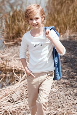 长袖T恤新款儿童体恤上衣男童打底衫