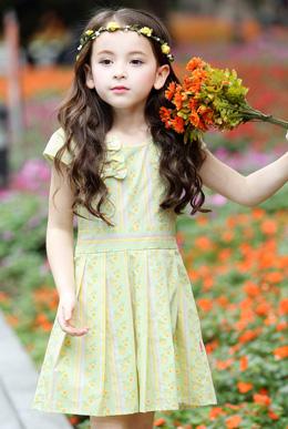 大童连衣裙新款童装儿童裙子韩版棉